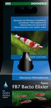 Dennerle Nano FB7 Bactoclean 15 мл - Живые очистительные бактерии - фото 27045