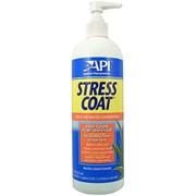 API Stress Coat 473 мл - Кондиционер с алоэ для декоративных рыб и воды (помповый дозатор)