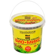 Aquabalance питательный субстрат БИО-МИКС 1,1 л - удобрение для растений