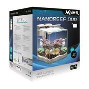 AQUAEL Nano Reef Duo LED 49 л, белый - морской аквариум с оборудованием