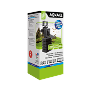 AQUAEL PAT-mini - компактный фильтр для аквариумов объёмом до 120 литров