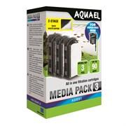 AQUAEL Картридж сменный для Versamax mini - пористая губка+флизелин (3 шт.)