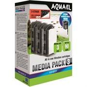 AQUAEL Картридж сменный для Versamax mini с углём (3 шт.)