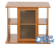 Aquaplus подставка 70*30*70 прям.(1дверь стекло+мдф ) (цвет-ольха)(АкваПлюс)