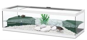 Aquatlantis TORTUM 100 - Аквариум для черепах, 100х40х30 см, белый + фильтр