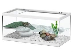 Aquatlantis TORTUM 40 - Аквариум для черепах, 40х20х18 см, белый