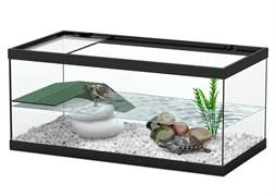 Aquatlantis TORTUM 40 - Аквариум для черепах, 40х20х18 см, черный