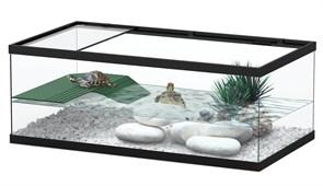 Aquatlantis TORTUM 55 - Аквариум для черепах, 55х30х20 см, черный