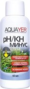 Aquayer pH/KH-минус, 60 мл