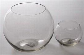 Aквариум 3л круглый плоскодонный