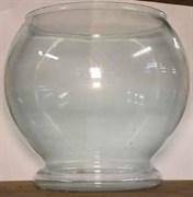 Aквариум 7л круглый на литой подставочке