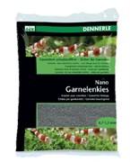 Dennerle Nano Garnelenkies - грунт для мини-аквариумов, цвет Arkansas grеу (серый), фракция 0,7-1,2 мм., 2 кг.