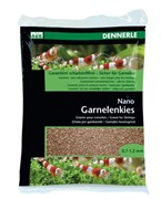 Dennerle Nano Garnelenkies - грунт для мини-аквариумов, цвет Borneo brown, фракция 0,7-1,2 мм., 2 кг.
