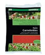 Dennerle Nano Garnelenkies - грунт для мини-аквариумов, цвет Indian red (красный), фракция 0,7-1,2 мм., 2 кг.