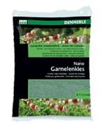 Dennerle Nano Garnelenkies - грунт для мини-аквариумов, цвет Java green (зеленый), фракция 0,7-1,2 мм., 2 кг.