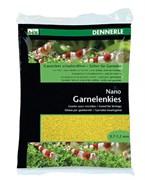 Dennerle Nano Garnelenkies - грунт для мини-аквариумов, цвет Panama yellow (желтый), фракция 0,7-1,2 мм., 2 кг.