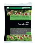 Dennerle Nano Garnelenkies - грунт для мини-аквариумов, цвет Sulawesi black, фракция 0,7-1,2 мм., 2 кг.
