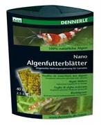 Dennerle NanoAlgenfutterblatter-дополнительный корм для креветок в виде 'листков' из водорослей 40шт