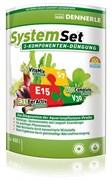 Dennerle Perfect Plant System Set - Комплект препаратов для системного и профессионального ухода за аквариумными растениями (E15 10 табл., S7 25 мл, V30 25 мл), на 800 л