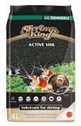 Dennerle Shrimp King Active Soil 8 л - активный донный грунт для пресноводных аквариумов с креветками
