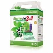 Dennerle Starter Set 3in1 - Стартовый набор для ухода за аквариумными растениями для аквариумов длиной до 60 см (50-80 л)