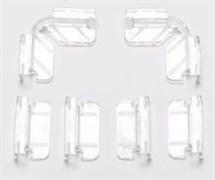 Dennerle Комплект креплений для покровного стекла аквариумов Dennerle NanoCube