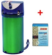 Eheim Classic 2213 - внешний фильтр для аквариумов до 250 л + губки и бионаполнитель Eheim Substrate Pro