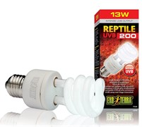 Exo Terra Reptile UVB 200 - лампа для рептилий, 13 Вт