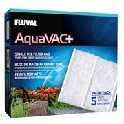 Fluval - сменный фильтрующий материал тонкой очистки (5 шт.) для пылесоса Fluval AquaVac+