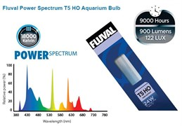 Fluval Power Spectrum 24 Вт Т5 HO- яркая лампа для аквариумов (старое название - Hagen Power-GLO)