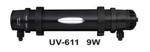 Hopar УФ-стерилизатор 9Вт, для аквариумов до 450л, кабель 5м, вход /выход от 10 до 19мм