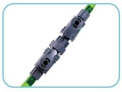 ISTA - сдвоенный разъёмный кран для шланга 12/16 мм