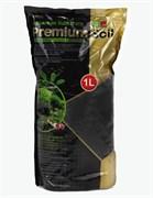 ISTA Premium Soil Субстрат для аквариумных растений и креветок премиум класса 1л,  гранулы 1,5-3,5мм
