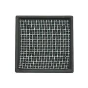 ISTA Керамическая площадка с сеткой из нержавеющей  стали для культивации растений - квадрат 5см