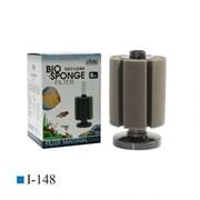 ISTA Фильтр аэрлифтный с круглым основанием высокий S.Высота 14,5/20 см, губка цилиндр 10см х 8,5см(диаметр)