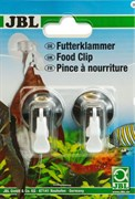 JBL Food Clip - Универсальный держатель для корма с присоской, 2 шт