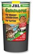 JBL Gammarus 80 г (750 мл) - Корм-лакомство для водных черепах, очищенный гаммарус, в специальной упаковке