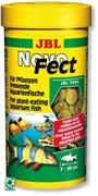 JBL NovoFect 100 мл. (160 шт.) - Корм в форме таблеток для растительноядных рыб