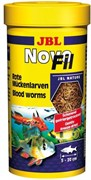 JBL NovoFil 100 мл. (8 г.)- Личинки красного комара, высушенные по технологии вакуумной заморозки