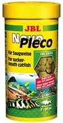 JBL NovoPleco 100 мл. (55 г.) - Водорослевые чипсы с примесью целлюлозы для кольчужных сомов