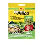JBL NovoPleco 15г (пакетик) - Водорослевые чипсы с примесью целлюлозы для кольчужных сомов