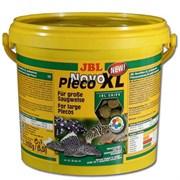 JBL NovoPleco XL 5,5 л. (2750 г.) - Водорослевые чипсы экстра-большого размера с примесью целлюлозы для кольчужных сомов