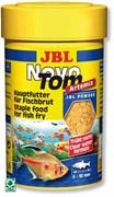JBL NovoTom Artemia 100 мл. (60 г.) - Пылевидный корм для мальков с артемией