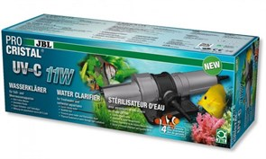 JBL ProCristal UV-C 11W - высокопроизводительный УФ-стерилизатор для аквариумов и прудов, 11 Вт