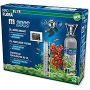 JBL ProFlora m2003 - CO2-система с пополняемым баллоном 2000 г и pH-контроллером для аквариумов до 1000 л
