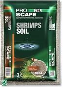 JBL ProScape Shrimps Soil BEIGE 3 л - Питательный грунт для аквариумов с креветками, бежевый