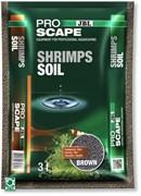 JBL ProScape ShrimpsSoil BROWN 3 л - Питательный грунт для аквариумов с креветками, коричневый