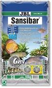 JBL Sansibar GREY 10 кг - Декоративный мелкий грунт для аквариума, серый