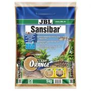 JBL Sansibar ORANGE 5 кг - Декоративный мелкий грунт для аквариума, оранжевый