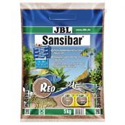 JBL Sansibar RED 5 кг - Декоративный мелкий грунт для аквариума, красный